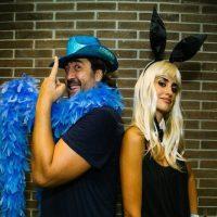 Penélope Cruz y Javier Bardem. Foto:Twitter/U2