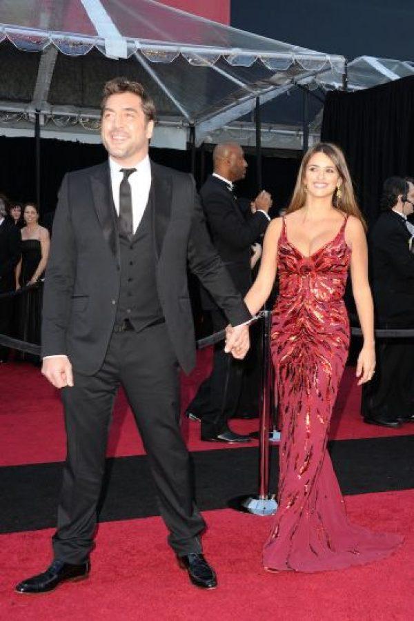 Su esposo, el actor español Javier Bardem. Foto:Getty Images