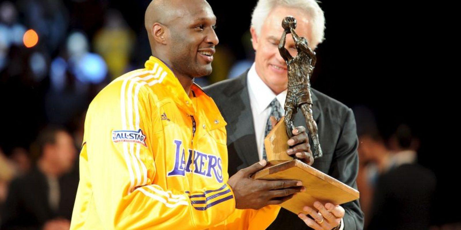 Junto a Kobe Bryant y compañía obtuvo un par de títulos en las campañas 2009 y 2010. Foto:Getty Images
