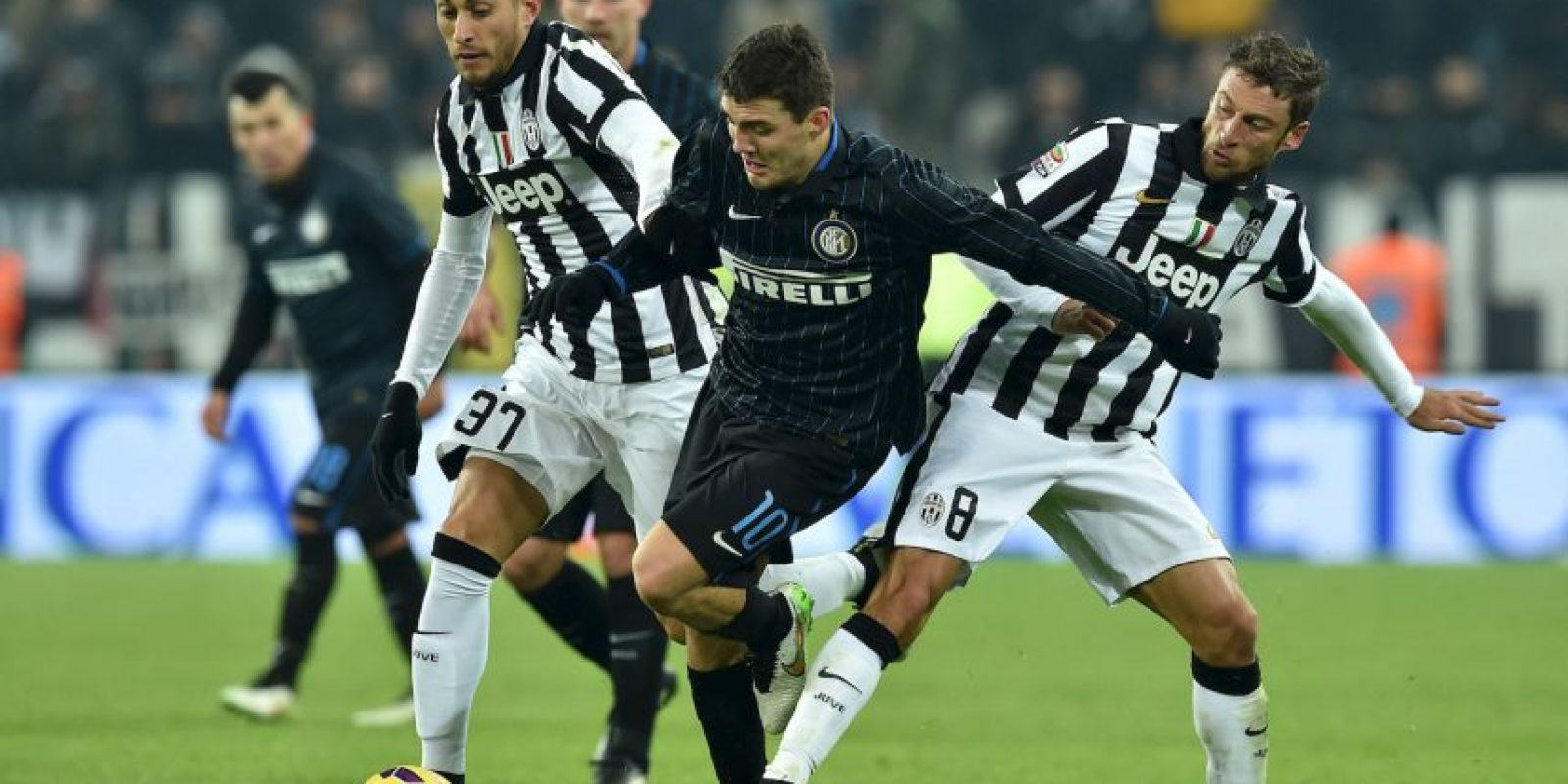 10. Inter de Milán vs. Juventus (Serie A) Foto: Getty Images