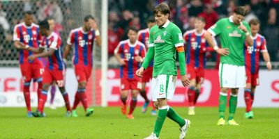 2. Werder Bremen vs. Bayern Munich (Bundesliga) Foto: Getty Images