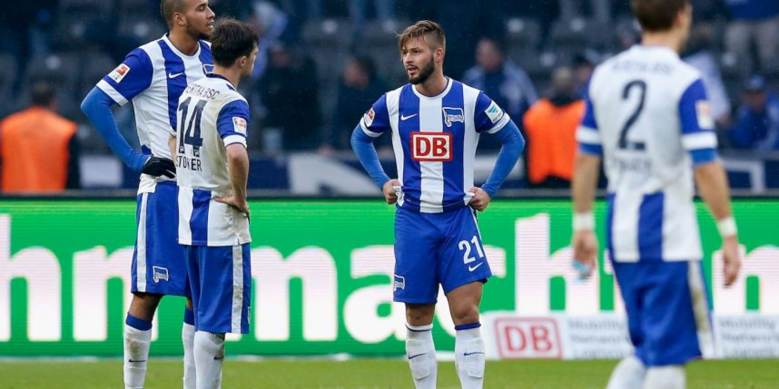 3. Schalke 04 vs. Hertha Berlín (Bundesliga) Foto: Getty Images