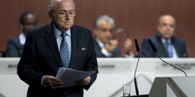 4. La renuncia de Joseph Blatter Foto:Getty Images
