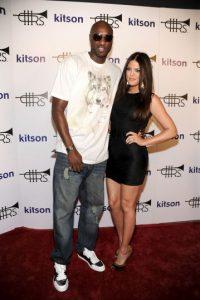 """En 2009, Khloé Kardashian y Lamar Odom se casaron a tan solo cuatro semanas de conocerse… fue lo que dicen """"amor a primera vista"""". Foto:Getty Images"""