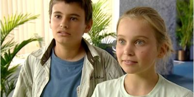 """El actor se ganó el papel de """"Héctor García"""", el mejor amigo de """"Taylor"""" que estaba enamorado de ella. Foto:vía childstarlets.com"""