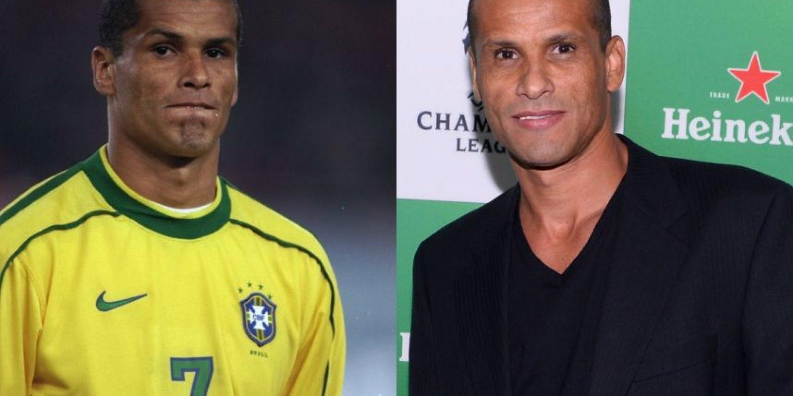 Rivaldo: Este exdelantero brasileño tiene 43 años, y además de ganar varios títulos con la camiseta del Barcelona, fue Campeón del Mundo en 2002. Se retiró varias veces, la última de ellas, en este 2015. Foto:Getty Images