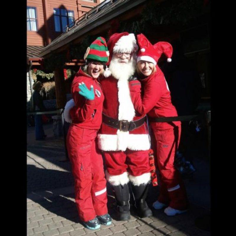 Fue un trabajo actuando como Santa Claus que le llevó a dejarse crecer la barba. Foto:Vía facebook.com/TheSantaClaus