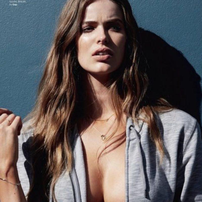 Fue la primera modelo para Violeta, la línea de MNG. Foto:vía Facebook