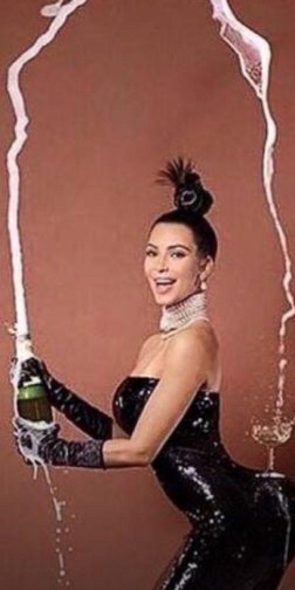 """Kim en """"Paper"""". Foto:vía Nacadas de la Vida Real"""