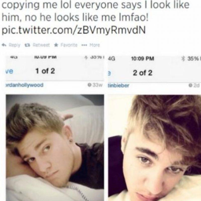 El que afirma que es Justin. Foto:vía Twitter