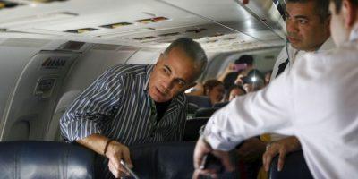 Acusado de obtener dinero ilícitamente abandonó su país en 2009. Foto:AP