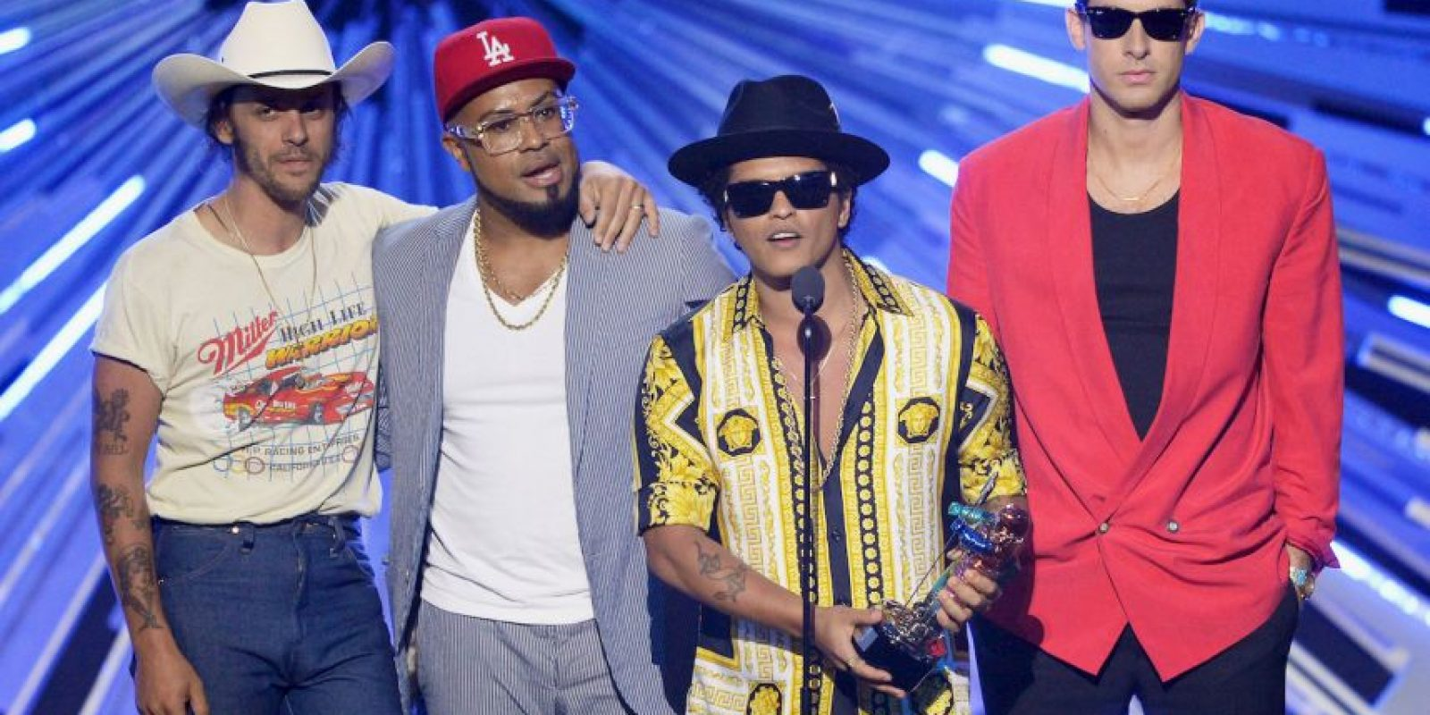 Mark Ronson y Bruno Mars Foto: Getty Images