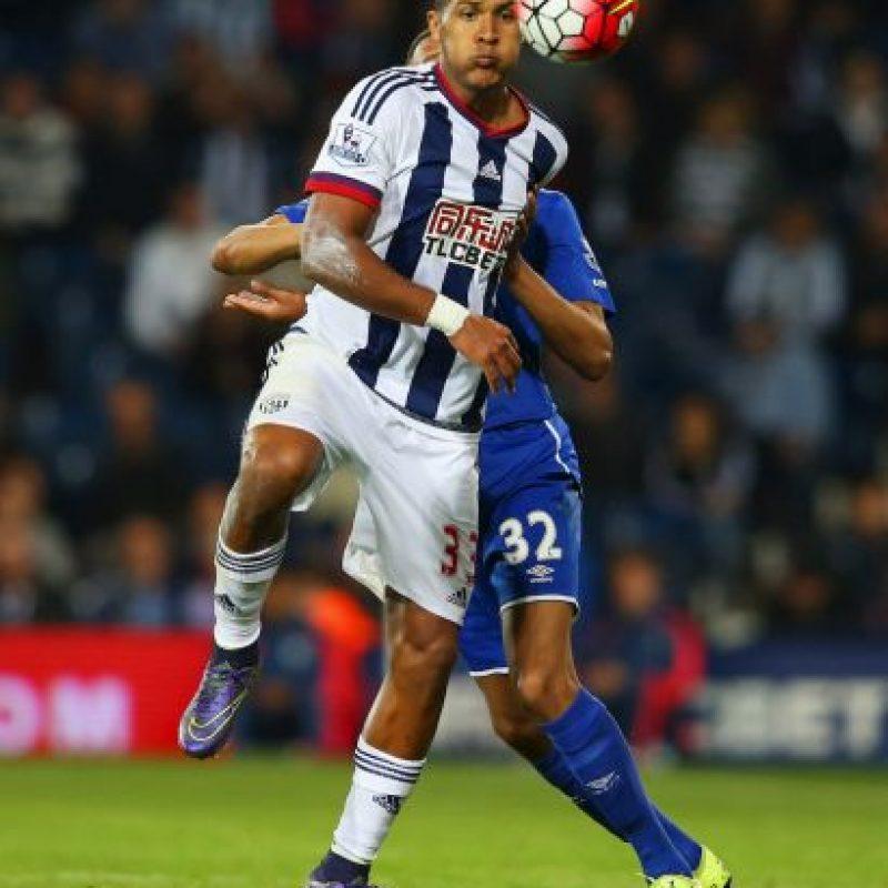 Juega en el West Bromwich de la Premier League. Foto:Getty Images