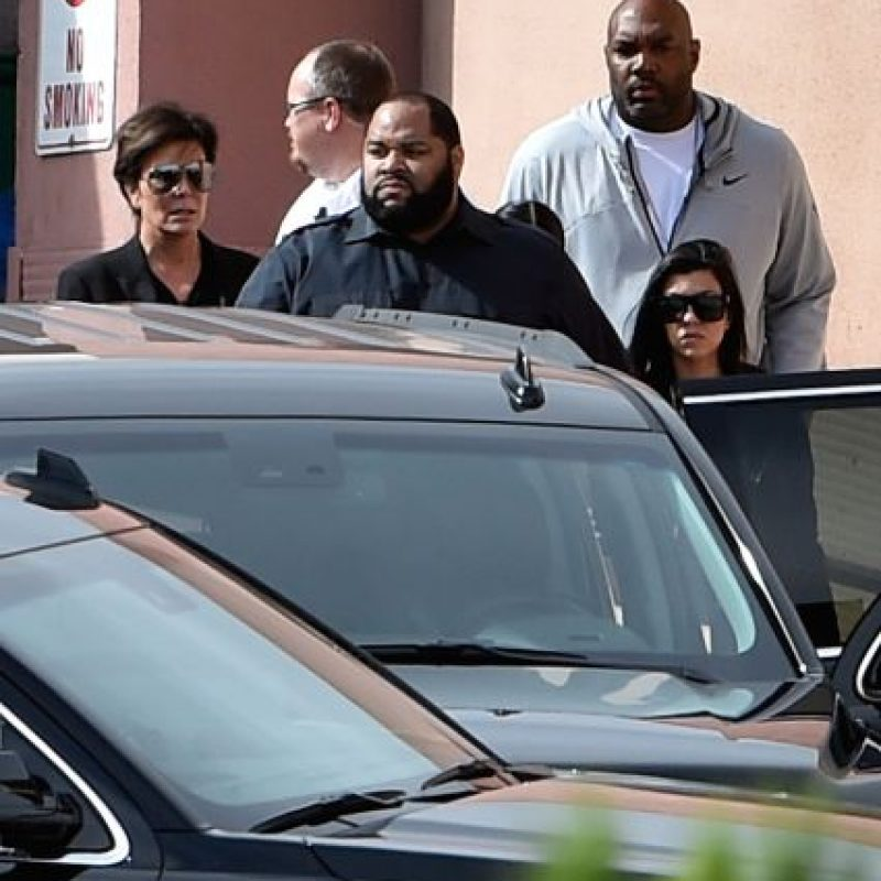 El clan Kardashian Jenner ha apoyado al basquetbolista. Foto:Getty Images