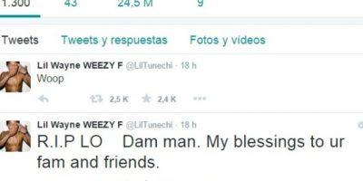 Este fue su tuit Foto:Vía Twitter