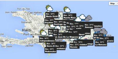 Onamet prevé cielos nublados con lluvia débiles y tronadas en el Norte