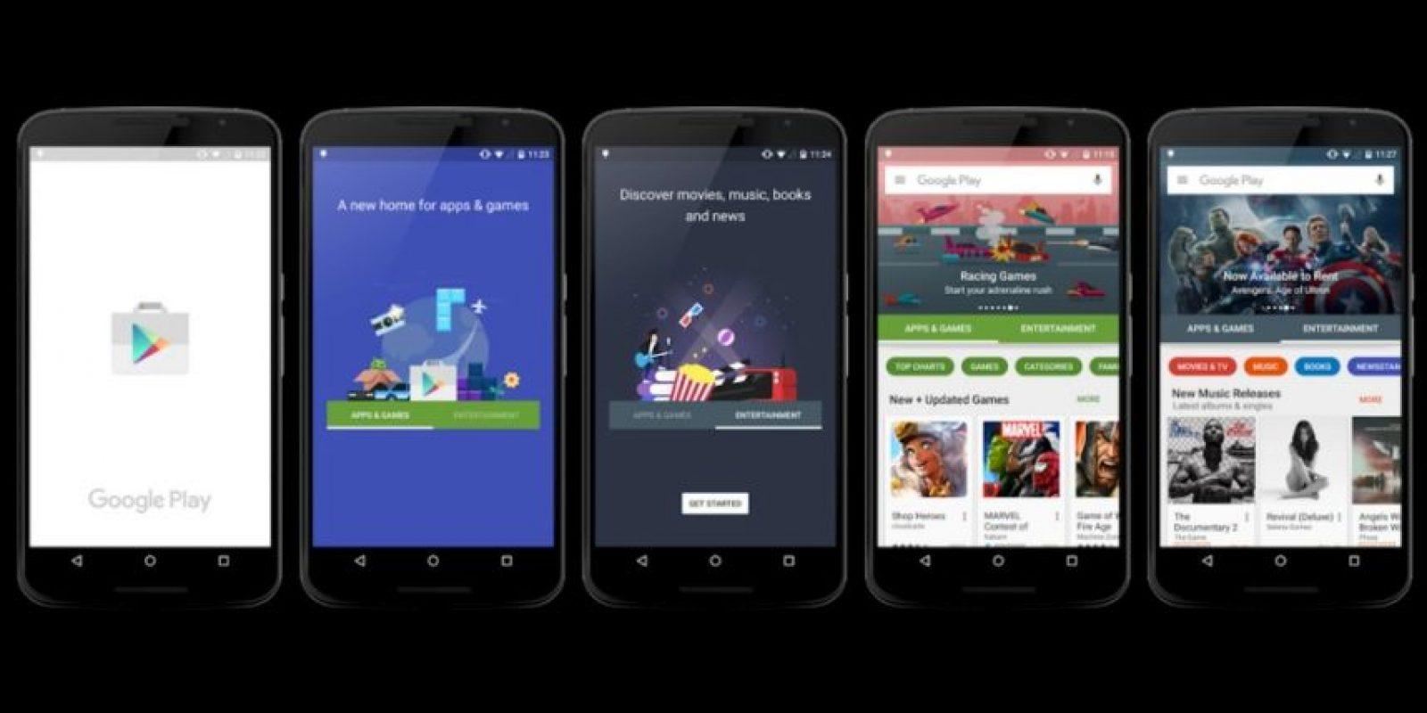 Esta será la introducción a la versión 5.0 Foto:vía plus.google.com/+KirillGrouchnikov