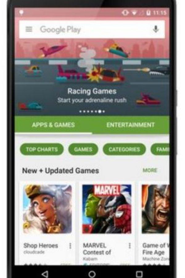 La categoría de apps y juegos. Foto:vía plus.google.com/+KirillGrouchnikov