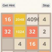 """""""Cuando dos fichas con el mismo número se tocan, se funden en una sola. Cuando se crea el azulejo 2048, el jugador gana"""". Foto:digiplex.in"""