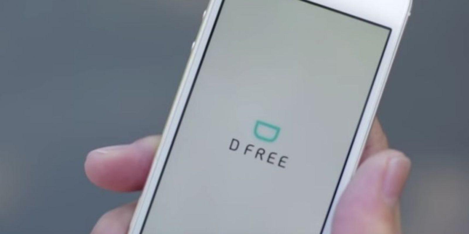 Se conecta con una aplicación en el smartphone. Foto:vía dfree.biz