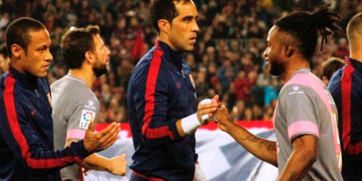 Así fue el triunfal regreso de Claudio Bravo con el Barcelona