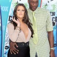 Su aún esposa Khloé Kardashian ha velado por su salud. Foto:Getty Images