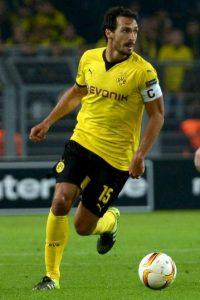 El defensa alemán, campeón del mundo en 2014, fue su capitán y su líder dentro de la cancha en el Borussia Dortmund. Foto:Getty Images