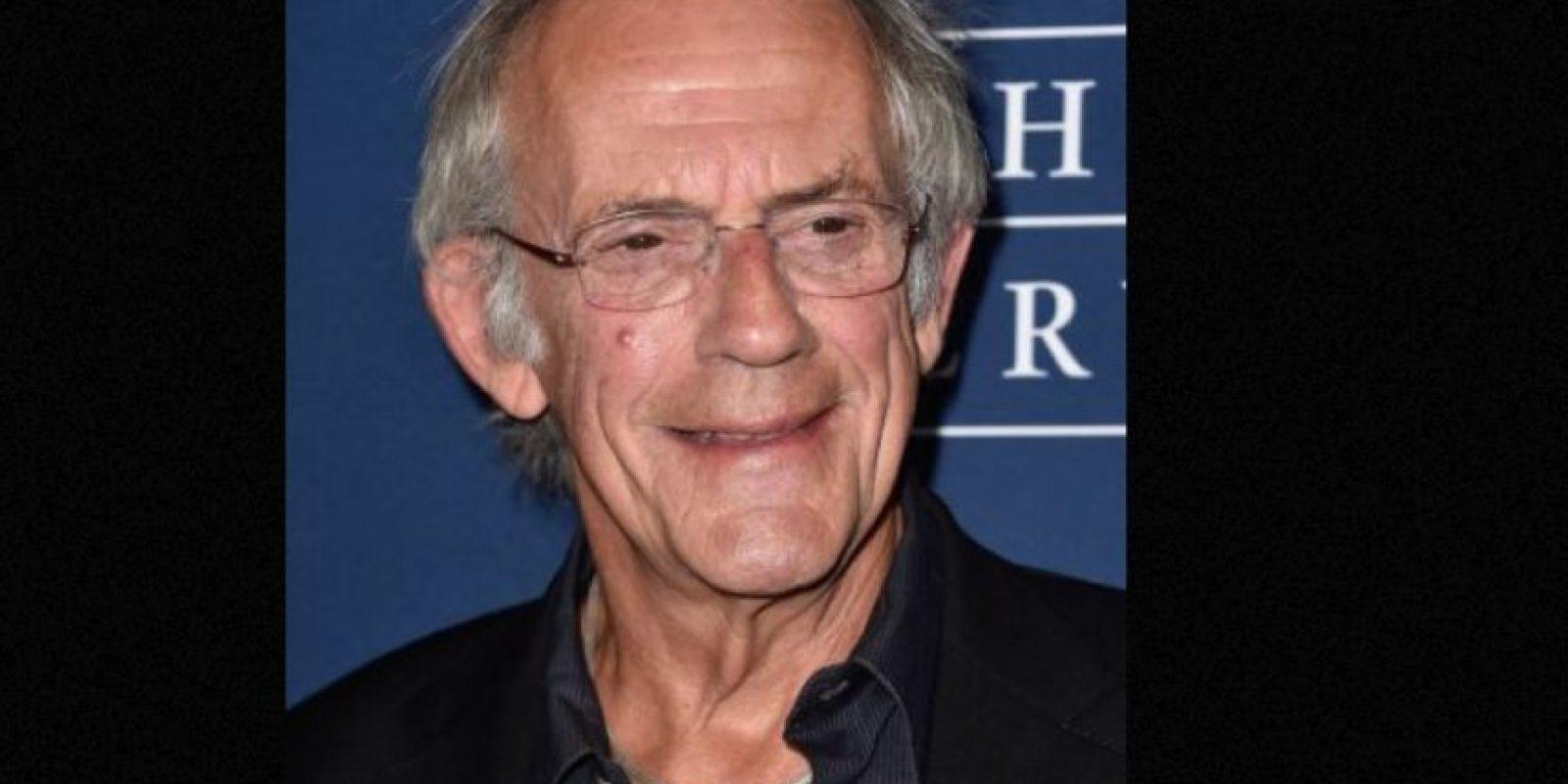 """Actualmente tiene 76 años y mantiene la promoción del mítico """"Doc"""" en convenciones de ciencia ficción. Foto:vía Getty Images"""
