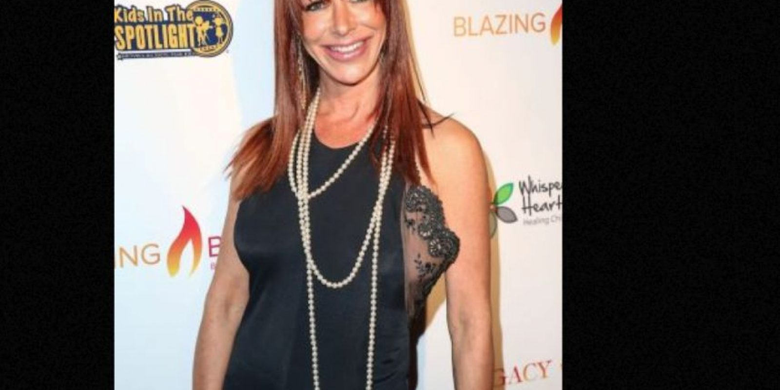 """Tiene 48 años. En 2011 participó en la serie """"The Mentalist"""" Foto:vía Getty Images"""