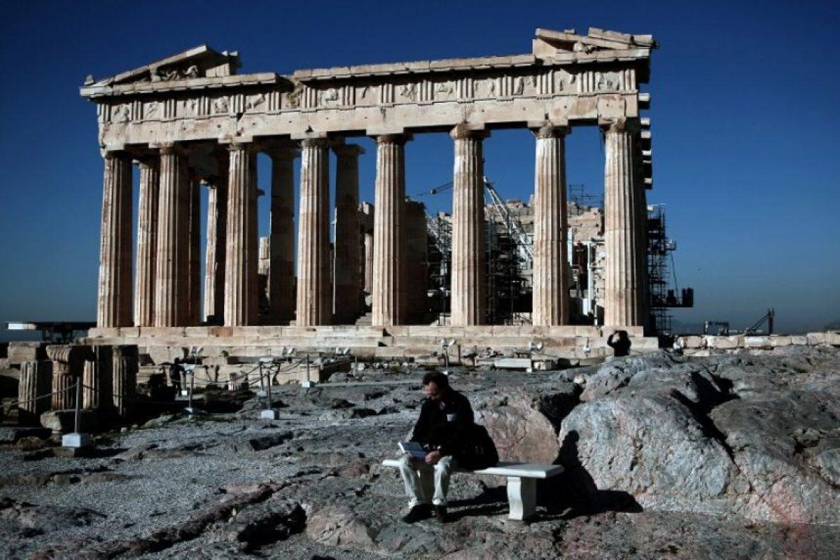 """""""Se encontraron tres estructuras de piedra, que podrían ser torres. También se hallaron herramientas asociadas al lugar, como hojas de obsidiana"""", dijo Julien Beck, profesor de la Universidad de Ginebra, citado por TeleSUR TV. Foto:AFP"""
