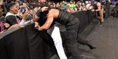 """En sus inicios en la WWE, era parte del """"Escudo"""", junto a Dean Ambrose y Seth Rollins Foto:WWE"""