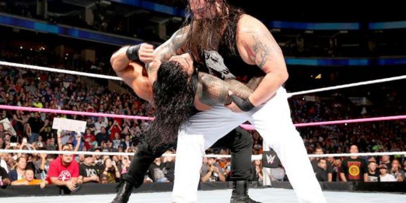 Roman Reigns y Bray Wyatt tienen una de las rivalidades más fuertes en la actualidad Foto:WWE