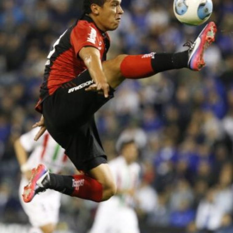 8. Víctor Aquino (Newell's Old Boys/Paraguay) Foto: Getty Images