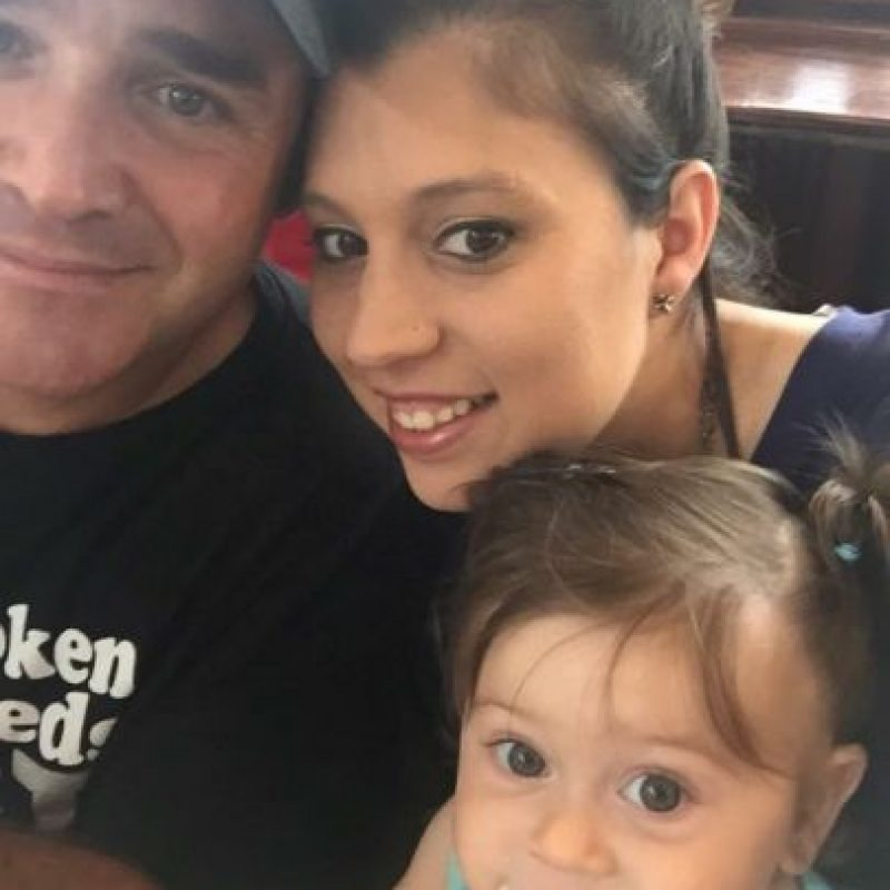 Su papá y su mamá son enfermeros en Texas. Foto:Vía gofundme.com/h367wjts