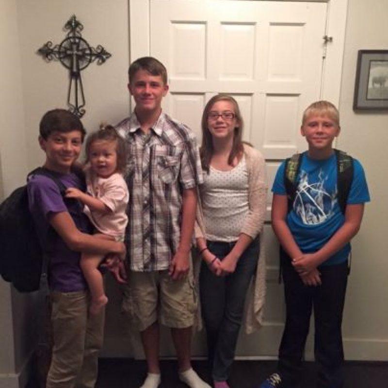Todo ocurrió cuando estaban visitando a los abuelos en Louisiana. Foto:Vía gofundme.com/h367wjts