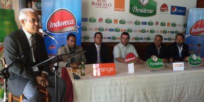 Mario Emilio Guerrero, John Castillo, José Antonio Mena, Juan Fernando Mejía, Andrés van der Horst y José Astacio. Foto:Fuente Externa