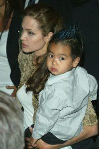 El mayor es Maddox, un camboyano que Jolie adoptó en 2002 Foto:Getty Images