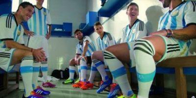 2. Selección de Argentina. Foto:Vía facebook.com/FundacionLeoMessi