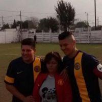 Le cumplió la promesa que le hizo a su primer club antes de irse a Europa. Foto:Vía twitter.com/andreaschettino