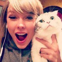12. Le encantan los gatos Foto:Instagram/TaylorSwift