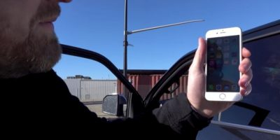 Finalmente el iPhone 6s resistió los impactos. Foto:Unbox Therapy / YouTube