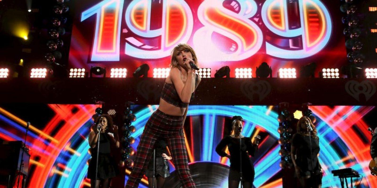 """2. Sus padres le pusieron el nombre de """"Taylor"""" en honor al cantante James Taylor. Foto:Getty Images"""