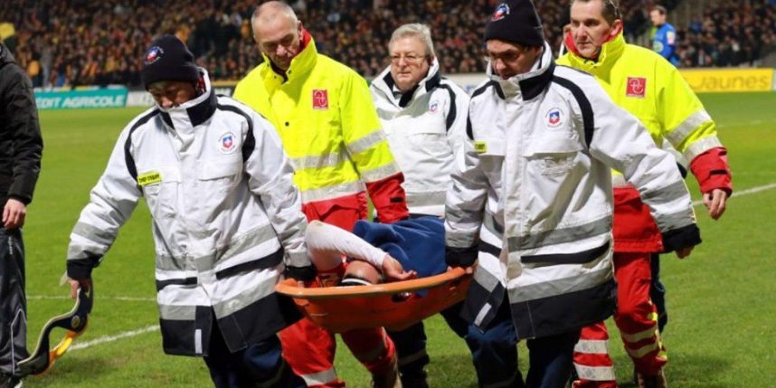 Jugaba en el modesto Chasselay de la cuarta división de Francia cuando se hizo famoso por lesionar a Radamel Falcao en enero de 2014. Esto ocurrió durante un encuentro entre su equipo y el Mónaco de la Copa de Francia. Foto:AFP