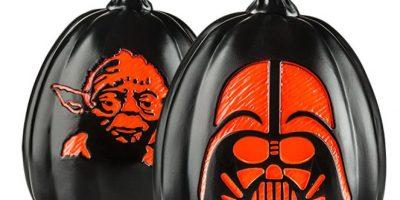 """Como su nombre lo dice, son calabazas de Halloween decoradas con personajes de """"Star Wars"""". Foto:thinkgeek.com"""