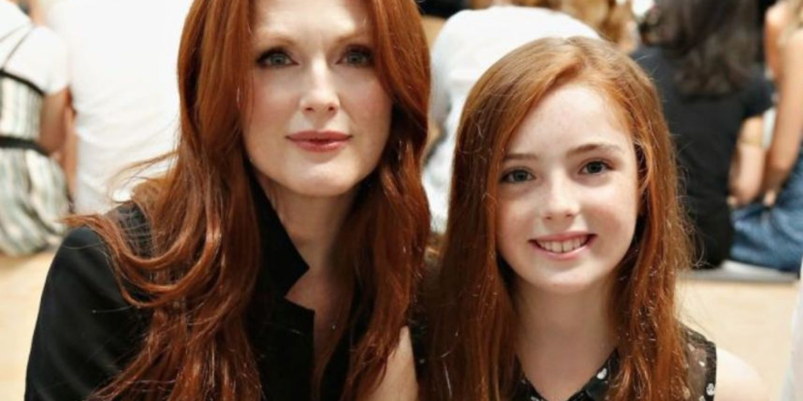 Julianne Moore y Liv Foto: Getty Images