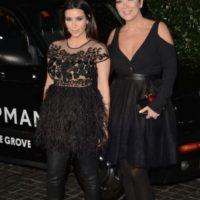 Kim Kardashian y Kris Jenner Foto:Getty Images
