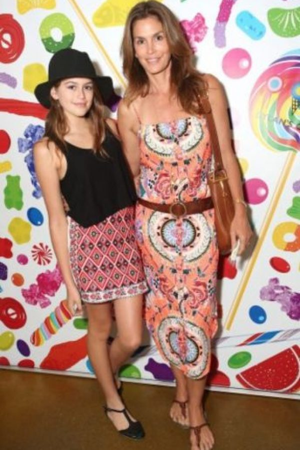 Cindy Crawford y Kaia Foto: Getty Images