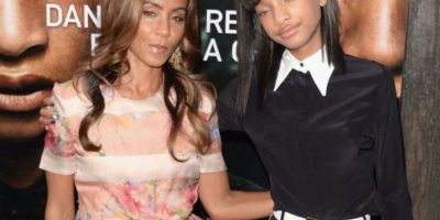 Jada Pinkett y Willow Smith Foto: Getty Images