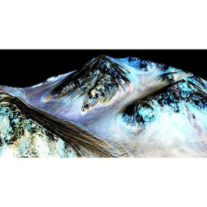 Investigadores descubrieron que existió agua líquida en Marte Foto:Instagram.com/NASA