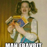 """Un meme que parodiaba a una niña nerd que decía """"Oh my God"""". Foto:vía Know Your Meme"""